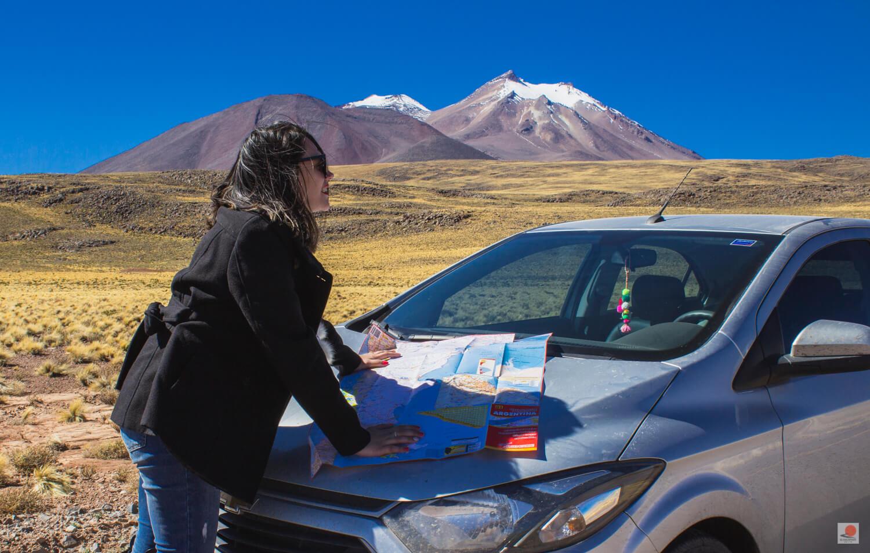 Fui para o Deserto do Atacama com um carro 1.0