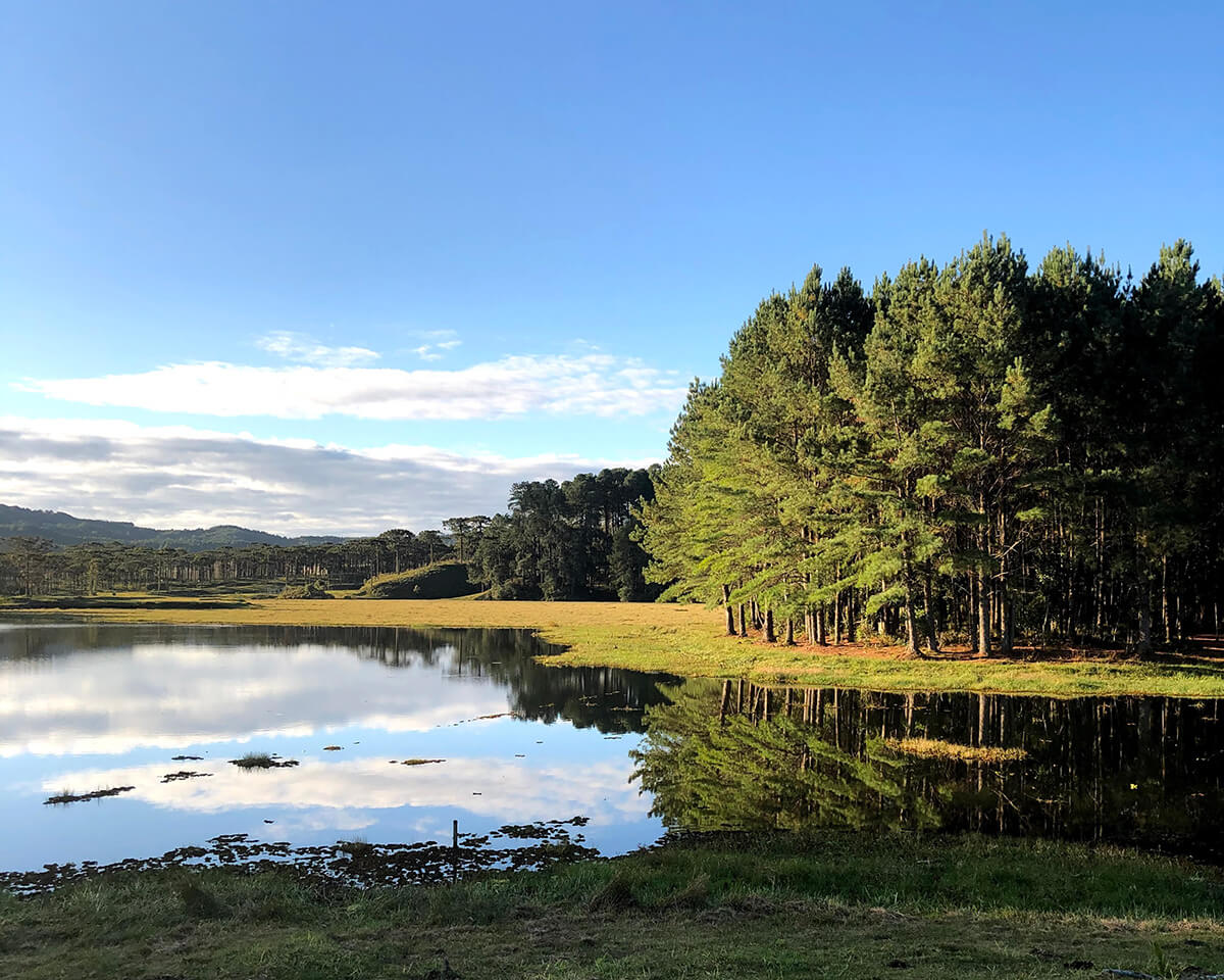 Represa Ilhas do Perimbó em Santa Catarina – Onde acampar em Petrolândia