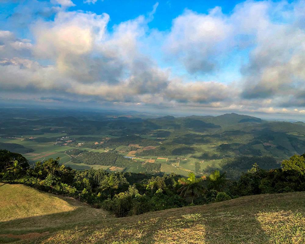 Lugares para Acampar em Santa Catarina: Morro do Santo Anjo em Massaranduba