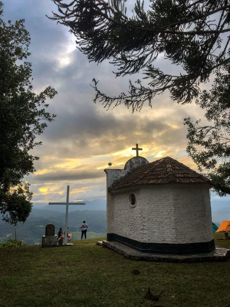 Acampamento no Morro Dom Bosco em Apiúna