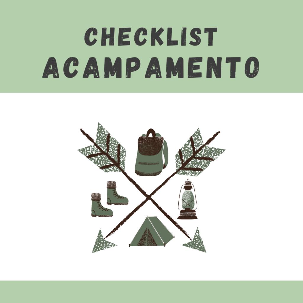 Check List Acampamento COMPLETO