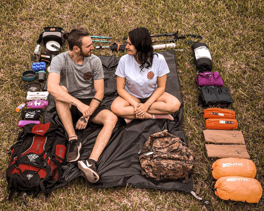 O que é preciso para acampar?
