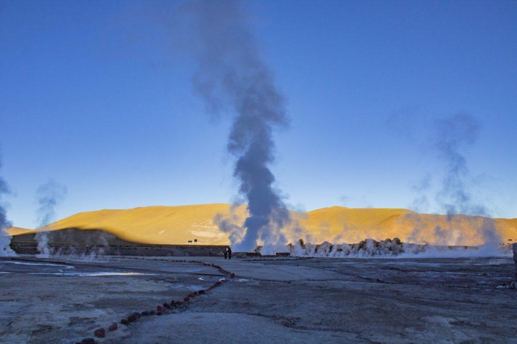 Geysers del Tatio e um frio de -10º no Deserto do Atacama