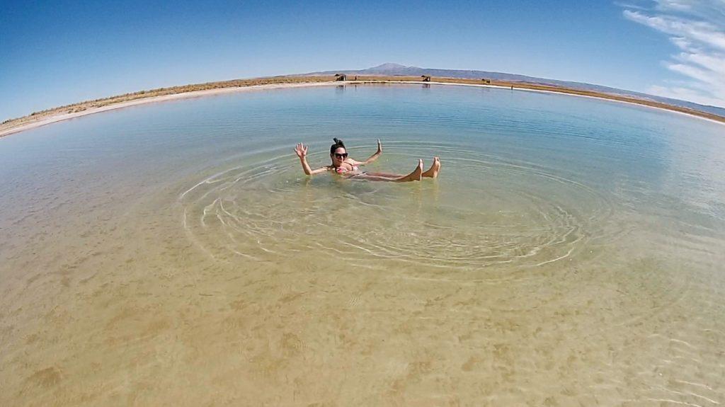Laguna Piedra no Deserto do Atacama, você não afunda!