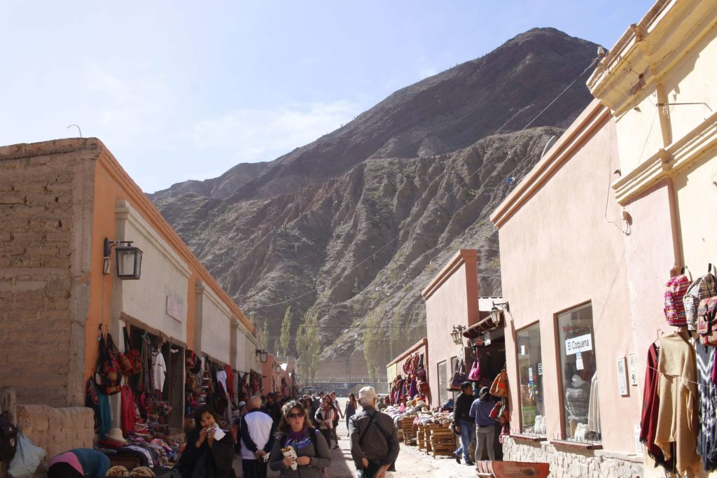 Purmamarca uma simpática cidade no norte da Argentina