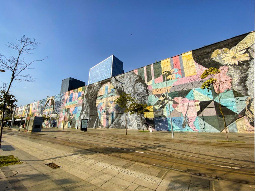 Mural Etnias no Rio de Janeiro é o maior grafite do planeta