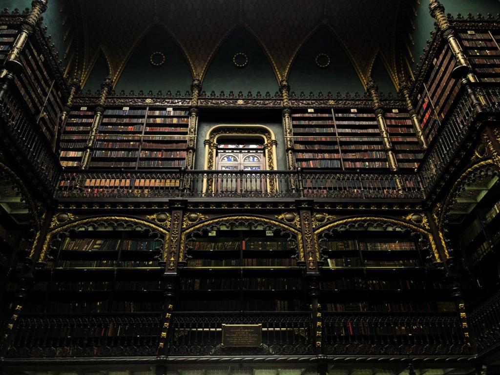 Lugares para visitar no Rio de Janeiro: Real Gabinete Português de Leitura