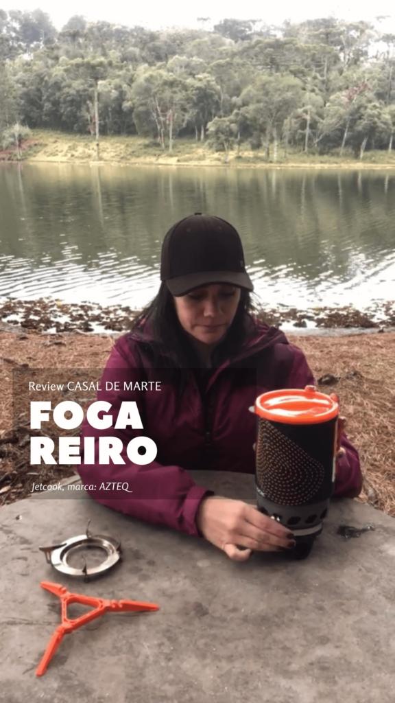 Review: Fogareiro JETCOOK da marca AZTEQ