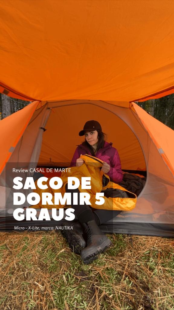 Review: Saco de Dormir MICRON da marca NAUTIKA