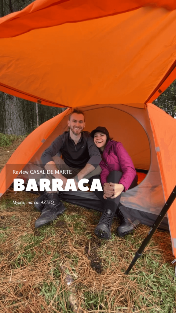 Review: Barraca MYKRA 2/3 da marca AZTEQ